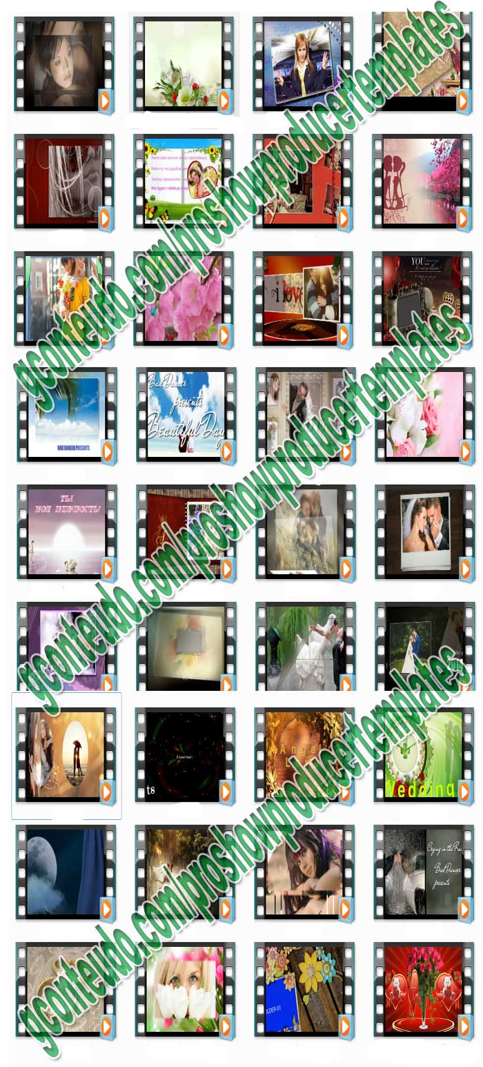 Proshow producer templates 60 package 16000 effects proshow producer the best templates pronofoot35fo Choice Image